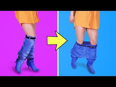 31 CRAZY CLOTHING DIY IDEAS THAT ARE TRENDY RIGHT NOW