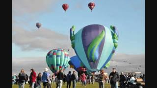 Albuquerque International Balloon Fiesta and Fireworks 2009 Time Lapse