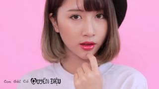 Quỳnh Anh Shyn Review + Swatch son kem