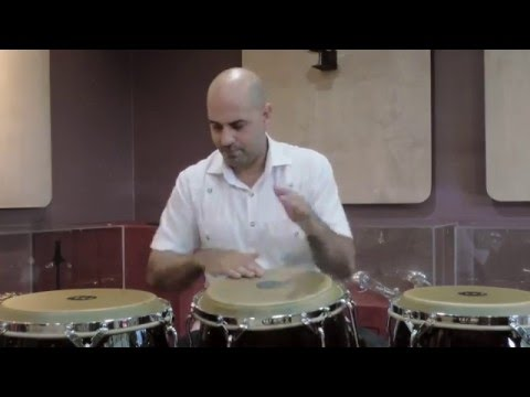 Salsa styles on conga with Jarrengton de Leon - Part 1 MEINL Percussion Woodcraft Series