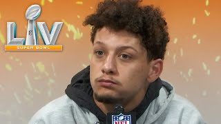 """Patrick Mahomes on Super Bowl LV Loss: """"Worst I've been beaten in a long time"""""""