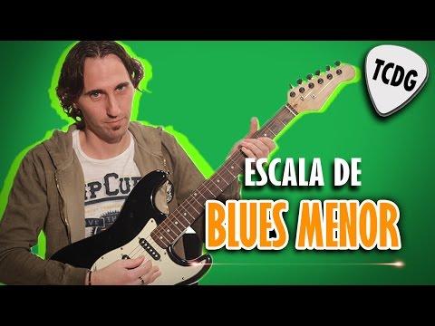 Como tocar guitarra eléctrica: Escalas de Blues Menor - Tutorial TCDG