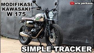 Modifikasi Simple Tracker -  Kawasaki W175