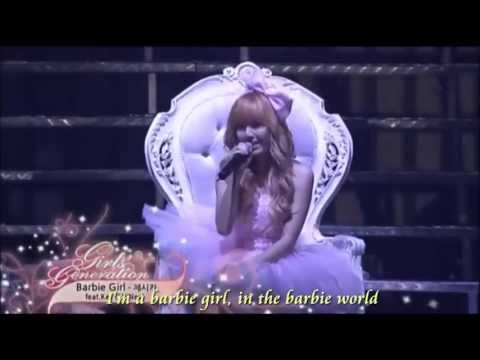 Barbie Girl   Jessica (SNSD) ft  Key [Lyric]