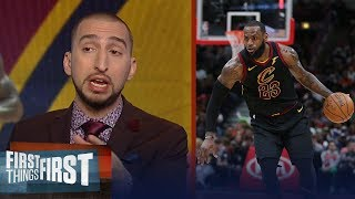 Nick Wright breaks down Cavs forward LeBron James' increased success in year 15 | FIRST THINGS FIRST