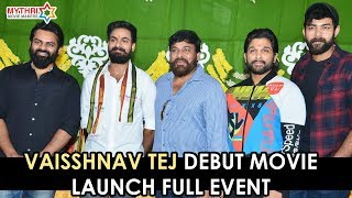 Panja Vaisshnav Tej Debut Movie Launch - LIVE..