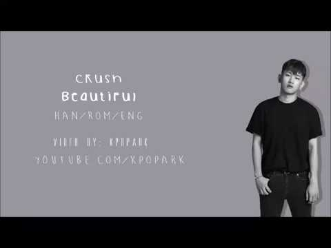 Crush - Beautiful lyrics [HAN/ROM/ENG]