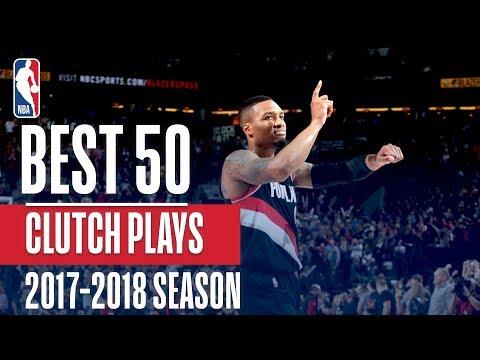 Best 50 Clutch Plays of the 2018 NBA Regular Season