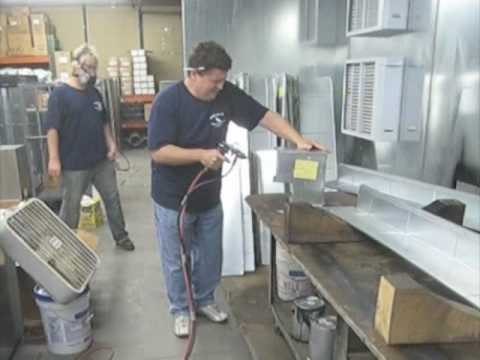 Shop Applied Antimicrobial Coated Ductwork