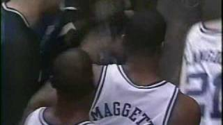 Duke Basketball Corey Maggette Crazy Dunk on Temple