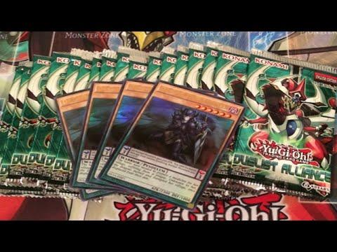 Yugioh Duelist Alliance Sneak Preview 18 Packs Opening R2