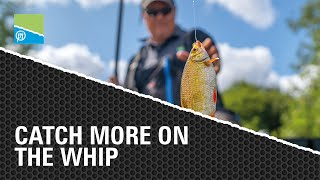 Video thumbnail for HOW TO CATCH MORE ON THE WHIP | WHIP FISHING TACTICS Preston Innovations Match Fishing Videos