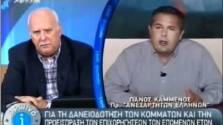 Ο Πάνος Καμμένος στον Ant1 με τον Παπαδάκη 29 Ιουνίου 2012