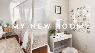 EXTREME BEDROOM MAKEOVER | aesthetic bedroom transformation✨🌥