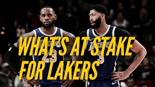 What's At Stake For The Lakers On A Wild Night In The NBA