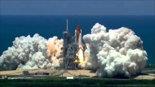 Space Shuttle Launch 1080p HD NASA TV