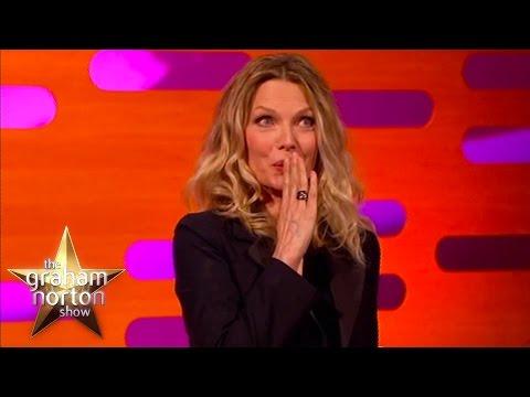 Michelle Pfeiffer Shocks De Niro With Filthy Language - The Graham Norton Show