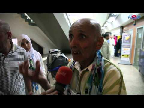 """مفقود مغربي في حادث """"منى"""" يعود الى """"الحياة"""" , و يتحدث هو وزوجته ل""""الأيام24"""