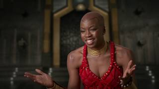 "BLACK PANTHER ""Okoye"" Interview - Danai Gurira"