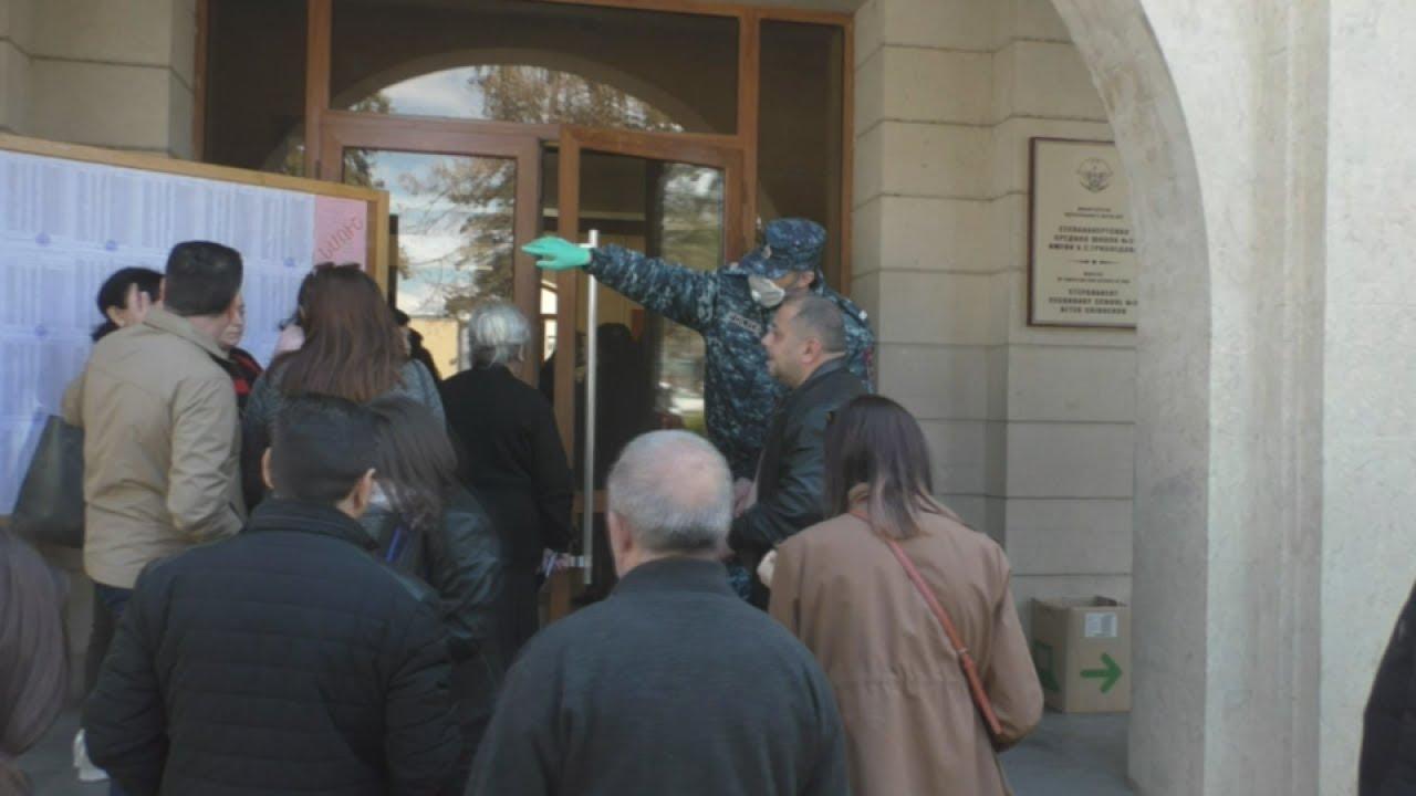 Карабах: коронавирус не остановил избирателей