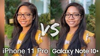 iPhone 11 Pro Max vs Galaxy Note 10+ Camera Comparison