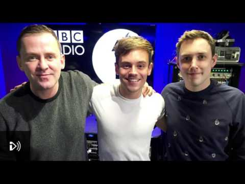Tom Daley on Radio 1