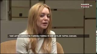 Lindsay Lohan Attacked for reading Quran