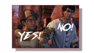 FIRST TIME PLAYING The Walking Dead SEASON 3 - PART 1