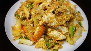 Caramelized Dungeness Crabs - Cua Ram Man