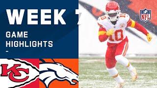 Chiefs vs. Broncos Week 7 Highlights   NFL 2020