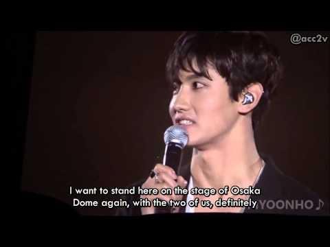 [ENG SUB] 150725 TVXQ Changmin MC Talk @ SMTOWN OSAKA [acc2v]
