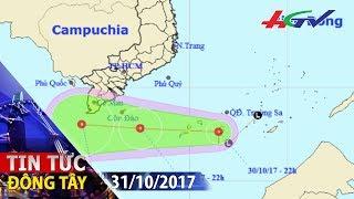 Áp thấp nhiệt đới trên biển Đông gió giật cấp 9 | TIN TỨC ĐÔNG TÂY - 31/10/2017