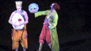 Cirque du Soleil ZAIA, Macao. Clown act by Onofrio Colucci
