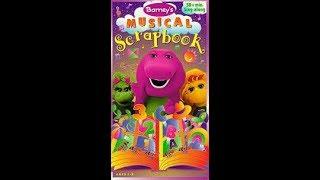 Barney's Musical Scrapbook (1997) [2004 Hit Entertainment VHS]