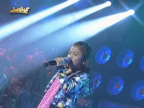 Lyca sings 'Basang-Basa Sa Ulan' on Showtime