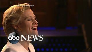 SNL's Kate McKinnon Sings 'Hallelujah' as Hillary Clinton