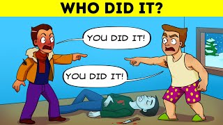 10 Difficult Crime Riddles To Test Your Analytical Skills 😎