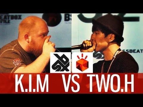 K.I.M. (FRA) vs TWO.H (KOR)   Grand Beatbox Battle 2014   Semi Final