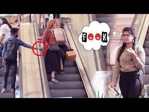 Touching Strangers Hand | Funniest Prank best ever | Khurafati India