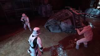 Star wars garbage compactor scene