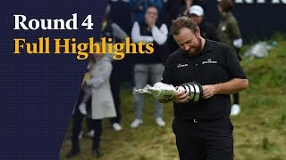 Highlights from Shane Lowry's sensational Open win