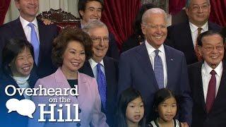 Hilarious Joe Biden Moments | Overheard On The Hill | MSNBC