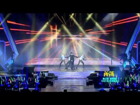 121231 Jiangsu TV New Year's Eve Concert - KIM HYUN JOONG - Please + Break Down
