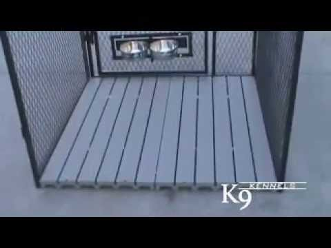 Old Raised Kennel Flooring Youtube