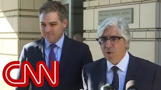 CNN's Acosta gets his press pass back.  What's next?
