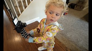 3 Year Old Tydus THE VLOGGER!!