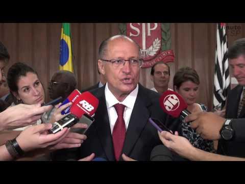 Vídeo Alckmin regulamenta aquicultura em SP