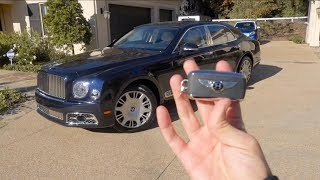 So, a Bentley Mulsanne instead of a Rolls?