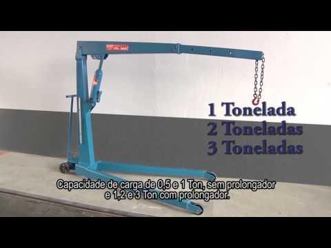 Guincho Hidráulico 3Ton com Prolongador G3000 Bovenau - Vídeo explicativo