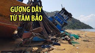 Những gì còn lại ở làng chài Vạn Ninh xinh đẹp sau bão số 12